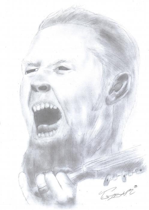 James Hetfield by Tumbar